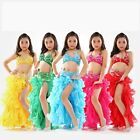 K877 NEW Girls Kids Belly Dance Costume Indian Bollywood Oriental Carnival Set