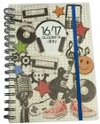 2016-2017 A5 Mid-Year ACADEMIC DIARY - Day to View (School/Organiser)