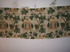 Lee Jofa Summerhouse Crewel traditional fabric remnant for craft multiple sizes