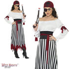 FANCY DRESS COSTUME # LADIES PIRATE BANDIT LADY DRESS SIZE 8-18