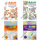 1 x HIGH QUALITY ADULT COLOURING THERAPY BOOK RELAX UNWIND STRESS RELIEF DESIGNS
