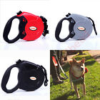 New Retractable Dog Lead Extendable Training Lead 5M - 8M Leash - Up to 50KG UK