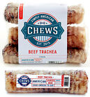 """Simply American Chews 6"""" Beef Trachea - USA Sourced Made - Natural Dog Treats"""