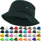 BUCKET HATS Caps Twill Solid Denim Camo All Cotton Men Women New KBETHOS KBM-500