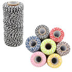 100m Cotton Bakers Twine Spool String DIY Sewing Gift Wrapping Packaging Treats