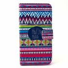 BOYA Cute Patterns PU Leather Stand Case for Samsung S6 Edge S5 iPhone 6S Cover
