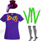 CHILD KIDS GIRLS MAD HATTER ALICE IN WONDERLAND FANCY DRESS COSTUME BOOK WEEK