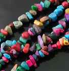 1 Strand Natural Gemstone Freeform Chip Loose Beads Gem Stone Jewelry Finding