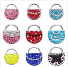 Jewelry Rhinestone Women's Bags Chunk Snap Button for Noosa Bracelet Necklace KC
