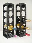 Proman Products Rutherford 5 Bottle Tabletop Wine Rack Set of 2