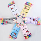 5 pairs Women's Girl hello kity Color stripes five finger Toe Socks Ankle socks