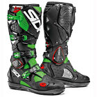 NEW SIDI CROSSFIRE 2 SRS MX DIRTBIKE OFFROAD BOOTS FLO GREEN ALL SIZES