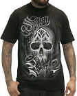Sullen Clothing Surreal Badge Mens T Shirt Black Skull Tattoo Tee Goth