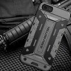 Shockproof Hybrid Armor Rugged Rubber Hard Cover Wallet Case For iPhone 5s SE 5C