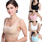 Hot Women's Seamless Sport Bra Lace Comfort Stretch Crop Tops Vest Padded Bras