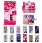 Magnetic Pattern Magnetic Leather Stand Case Cover for Samsung Galaxy S5 Mini