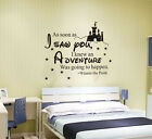 wall stickers Adventure going to happen Winnie decor art removable vinyl decal