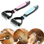 Dog Pet Cat Fur Knot Cutter Shedding Grooming Trimmer Tool Comb Brush 10 Blade