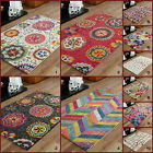 MEDIUM BRIGHT FUNKY MODERN 120x170cm MULTI COLOURS 10-12 MM RUGS on clearance