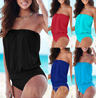Sexy Women Ladies One-Piece Push Up Bikini Bandage Monokini Swimsuit Beachwear