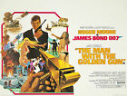 Home Wall Print - Vintage Movie Poster -THE MAN WITH THE GOLDEN GUN -A4,A3,A2,A1 £5.99 GBP on eBay