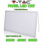 PLACA PANTALLA PANEL LED V-TAC 72W 1195X595X14MM SUPER SLIM 5000 LUM (VT-12060)