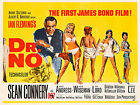 Home Wall Art Print - Vintage Movie Film Poster- DR NO JAMES BOND 2 -A4,A3,A2,A1 £8.99 GBP
