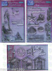 Sweet Dixie Clear Stamps SEASIDE shore lighthouse beach huts seahorse you choose
