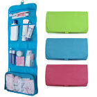 Toiletry Makeup Bag Wash Travel Carry Large Folding Hanging Zipper Organizer UK