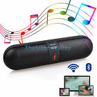 Bluetooth Wireless Speaker FM Stereo Portable Shockproof For Phone Tablet PC