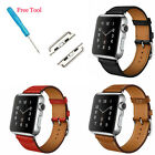 Leather Strap Single Tour Bracelet Watch Band For Apple Watch iWatch 38/42mm