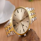 New Men's Fashion Business Metal Band Quartz Watch Wristwatch Gift
