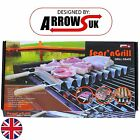 OUTDOOR BARBECUE GRILL SKEWER LIGHTWEIGHT SEAR TRAY  BBQ GARDEN CAMPING COOKWARE