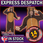 "FANCY DRESS COSTUME # ADULT ALL IN ONE MONKEY COSTUME 38""-44"""