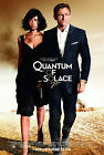 Home Wall Art Print - Vintage Movie Film Poster -QUANTUM OF SOLACE - A4,A3,A2,A1 £9.99 GBP