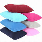 Small Travel Pillows Air Inflatable Pillow Flocking Cushion