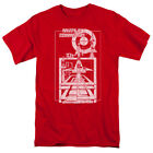 Atari Missile Command Lift Off Gamer Licensed Adult T Shirt