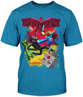 Minecraft SamCube Battle Adult T-Shirt - Mojang Video Game Xbox PlayStaion Tee
