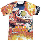 Atari Missile Command Gamer Allover Sublimation Licensed Adult T Shirt