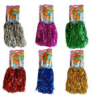 2 x Pom Pom FARBAUSWAHL metallic Püschel Cheerleader Pompoms Football Fasching