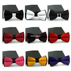 Fashion Adjustable Satin Men Tuxedo Classic Novelty Wedding Bow Tie Necktie N98B