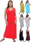 @S603 MAXI DRESS V NECK BASIC SKIMMER S M L XL 1X 2X 3X 4X 5X 6X MADE TO ORDER