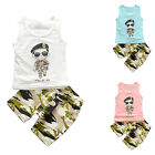 Summer Baby Toddler Kids Boys Casual Tops T-shirt Pants Outfits