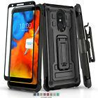 REFINED ARMOR COVER PHONE CASE & HOLSTER FOR SAMSUNG GALAXY S7 ACTIVE +BUNDLE