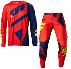 NEW 2017 SHIFT RACING BLACK LABEL MAINLINE COMBO DIRT BIKE NAVY/RED ALL SIZES