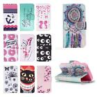 Art Painted Pattern PU Leather Fold Wallet Pouch Case for iPhone 5/5s/SE JMHG