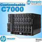 HP ProLiant C7000 Blade Center 16x BL460c G7 Hex Core Fully Customisable HDD RAM