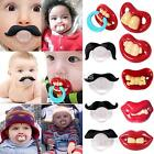 1PCS Baby Funny Dummy Prank Pacifier Novelty Teeth Children Child Soother Nipple
