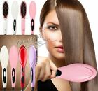 AU TOP Professional Hair Straightener Brush Comb quoted Electric Heating Irons