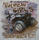 ALL AMERICAN GIRL KNOW HOW TO RIDE 4 WHEELERS MUDDIN COUNTRY GIRL SHIRT #50